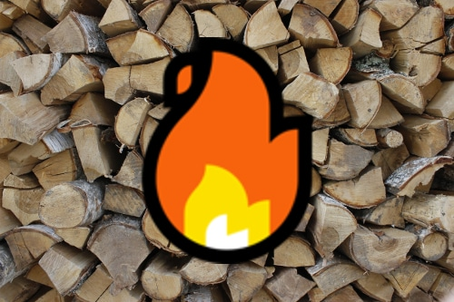 Kiln dried logs and salt now for sale!